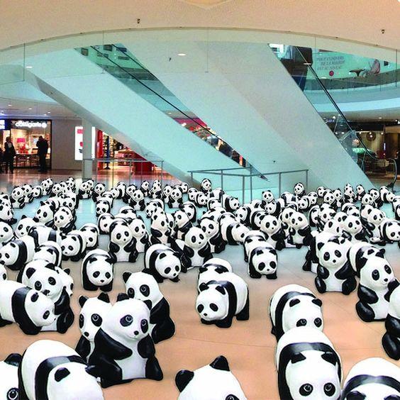 """""""1 600 pandas""""   Actualités   Beaugrenelle"""