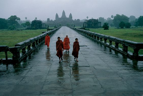 Angkor Wat, Cambodia. Photo by Steve McCurry.