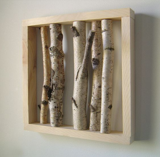 we have several birches that need to go and a half bath with some very 70s ceiling tiles......hmmmmmmm: