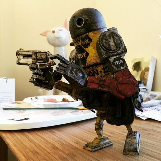"""3ago Bertie's wave one soon as well, I'm just putting some finishing touches on them! #wwr3ago #ashleywoodart #threea"""