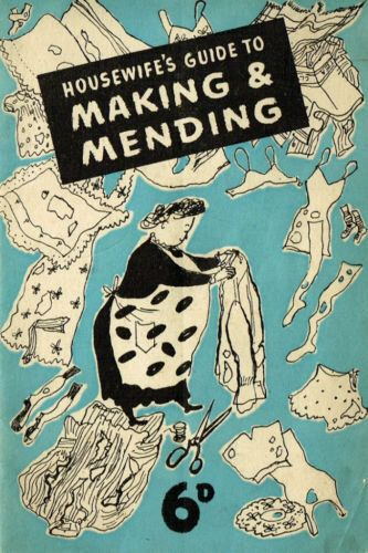 INSTANT DOWNLOAD-1940s Housewife Making and Mending wartime recycle,upcycle ebooklet-pdf by VintageVisageonEtsy on Etsy https://www.etsy.com/listing/93058216/instant-download-1940s-housewife-making