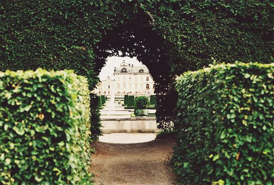 {decor inspiration   in the garden : a tale of topiaries} by {this is glamorous}, via Flickr