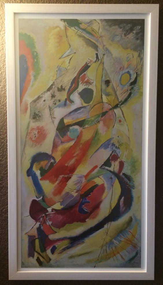 Gracias Sr Kandinsky por su obra tan guapa ella... Feliz cumpleaños a usted.