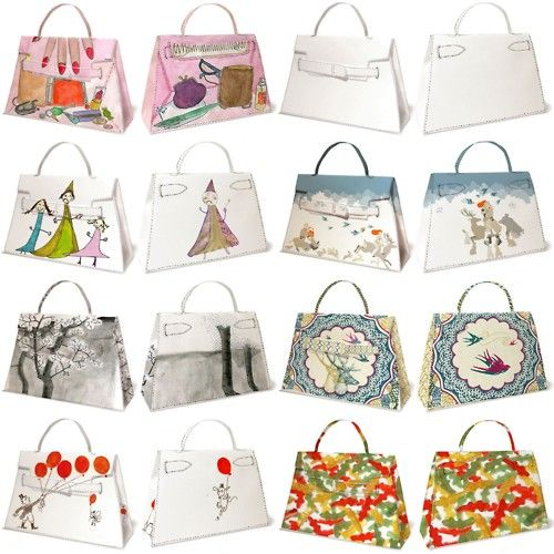 pattern for hermes kelly style bag