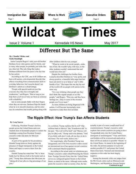 High School Newspaper High School Newspaper School Newspaper