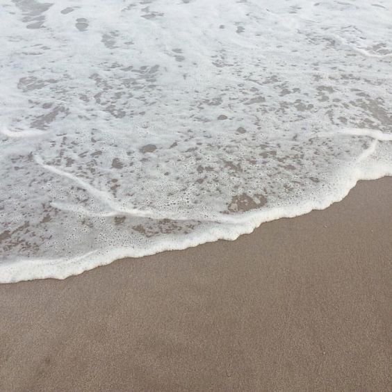 Shoreline. Photo by @mariavannguyen #ocean #sand