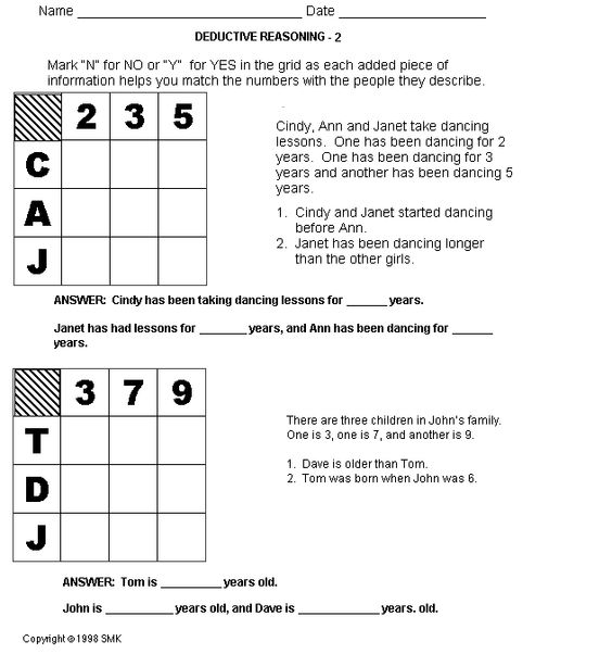 Printables Free Gifted And Talented Worksheets the ojays free worksheets and logic puzzles on pinterest lots o like these join