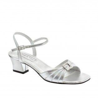 SHALA-243 Women Low-heel Sandals - Silver