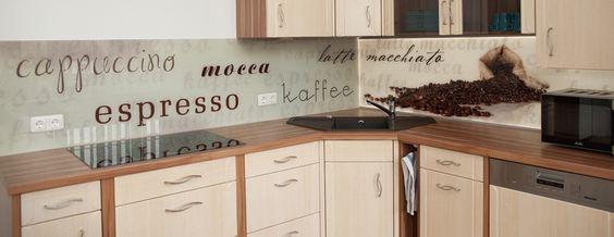 35 Küchenrückwände aus Glas - opulenter Spritzschutz für die Küche - wandpaneele küche glas