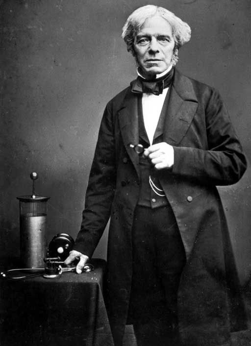 Michael Faraday - The electric motor, generator, discovery of the magnetic field and no formal education!