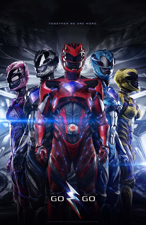 Power Rangers (2017) BluRay