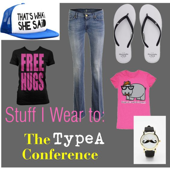 Cool #typeacon recommendations from Kadi! // Stuff I Wear to Conferences