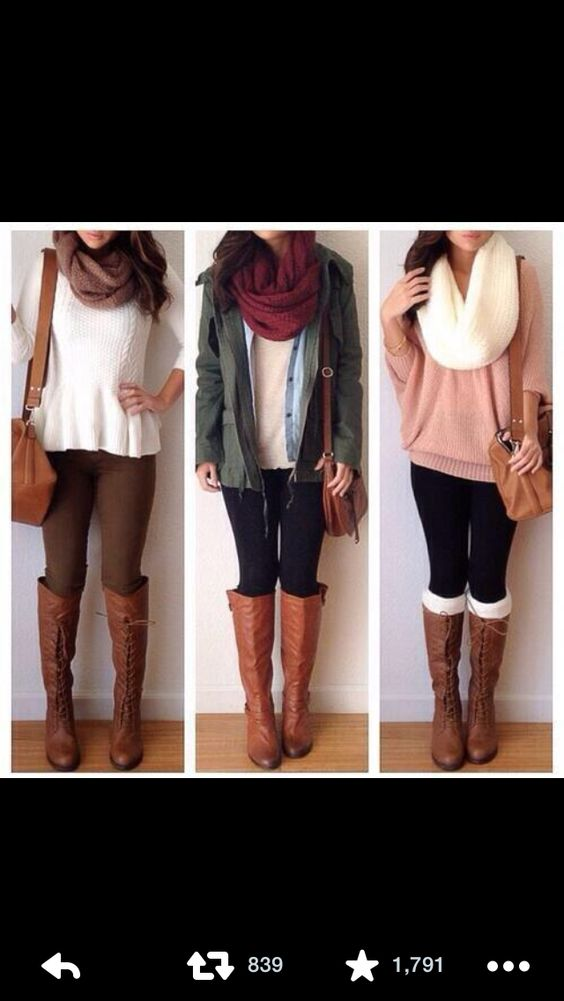 How I dress all through winter