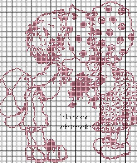 Tricot et crochet punto croce and passion on pinterest - Differents points de tricot ...