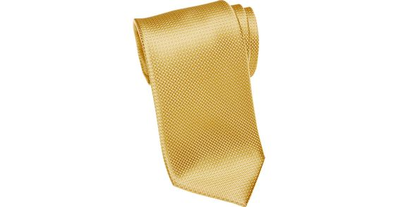 """Check this out! Tommy Hilfiger Yellow Narrow Tie - Narrow (3 to 3 1/4"""") from MensWearhouse. #MensWearhouse"""