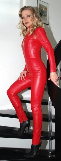 Red latex hood villain - 1 part 3