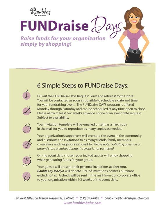 Our new fundraising program Fundraising Pinterest Fundraising - check request form