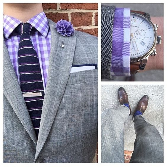 """Shades of purple... Violet Burlap lapel pin ($10) Styled by @thelifeofties - $10 Lapel Pins or 5 for $35 $70 Choose 10 lapel pins $14 Pocket Squares or 3 for $35 $20 Neckties or 3 for $45 $16 Tie Clips  Join our Monthly Club and get 5 accessories like these sent to you for only $25/mo. Harrison Blake Apparel Selected Monthly Club www.harrisonblakeapparel.com Link from profile"" Photo taken by @wearlapelpins on Instagram, pinned via the InstaPin iOS App! http://www.instapinapp.com…"