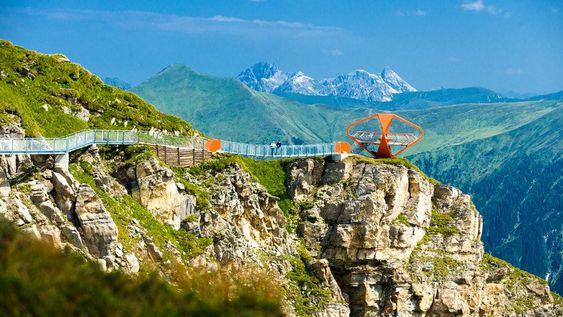Felsenweg Stubnerkogel : Aussichtsberg Gastein