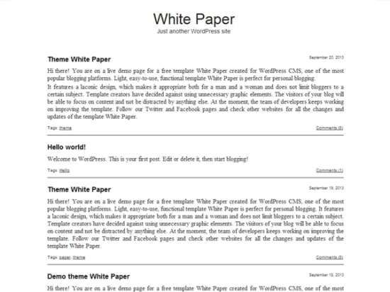 White Paper Templates Free Sample Templates Resume Template