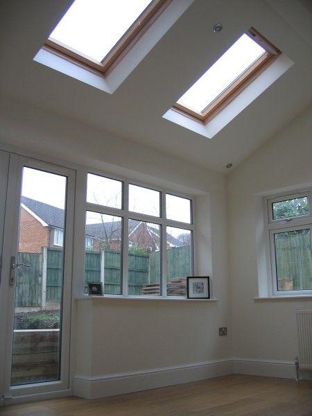 Kitchen Extension Roof - Velux Windows