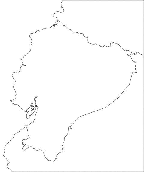 mapa perfil ecuador