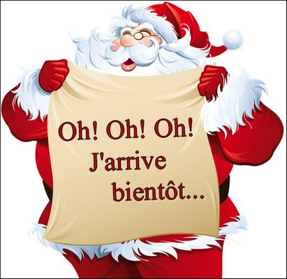 La Page des Plaisirs Partagés: Gif du Père Noël …