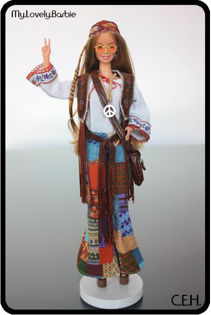Más tamaños | 2001 Peace & Love 70s™ Barbie® - Great Fashions of the 20th Century Series | Flickr: ¡Intercambio de fotos!