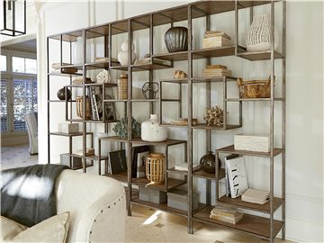 Universal Furniture is available at CT Home Interiors in West Hartford. For bedroom wall in parlor? Universal Furniture | Moderne Muse | Bunching Etagere | 414845