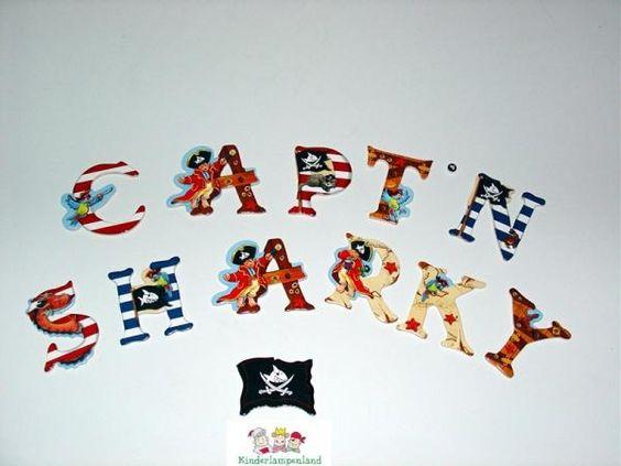 Captn Sharky Buchstaben