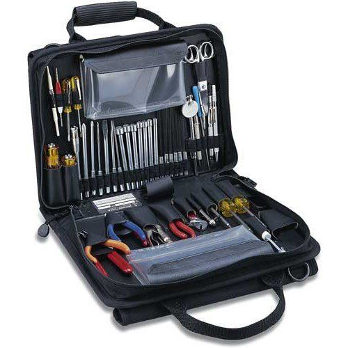 Jensen Tools Jtk 49dblrb Workstation Kit In Double Sided Black