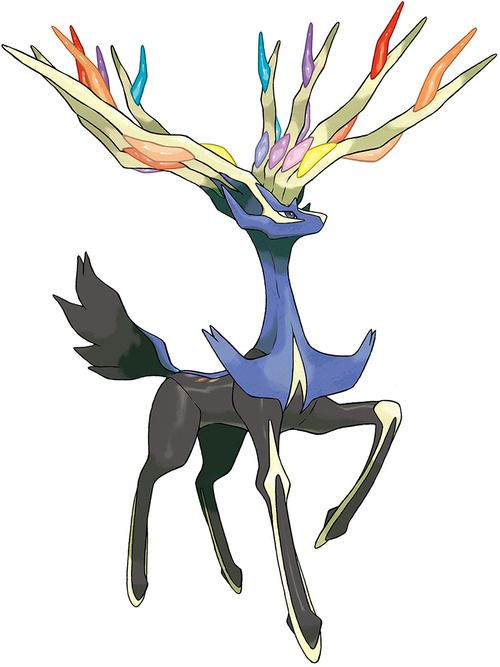 Xerneas Character Concept Art - Pokemon X and Y (3DS)