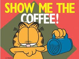 #garfield #poster #coffee #quote