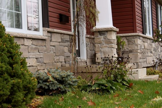 Stone Over Brick Exterior Home CSC Natural Stone Veneer Essexcounty Exterio