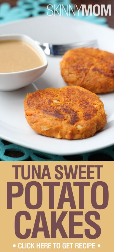Skinny Sweet Tuna Cakes | Recipe | Sweet Potato Cakes, Potato Cakes ...