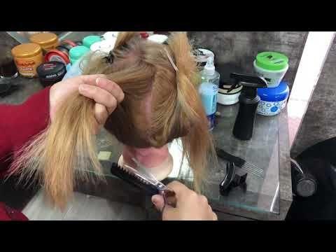 قصة ديكراديه من الخلف جزء ١ Youtube Hair Straightener Hair Styles Hair Wrap