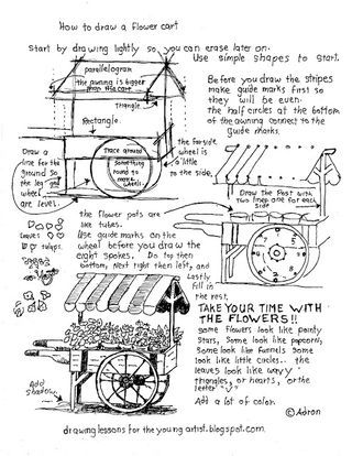 How To Draw An Arched Door, A Free Printable Worksheet (How to ...
