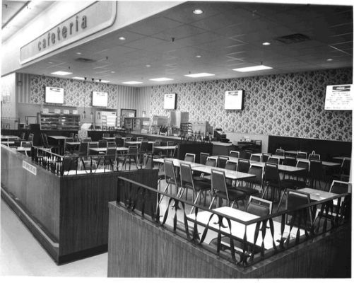 Kmart Cafeteria Circa 70s The Good Old Days Eerie Places Vintage Mall