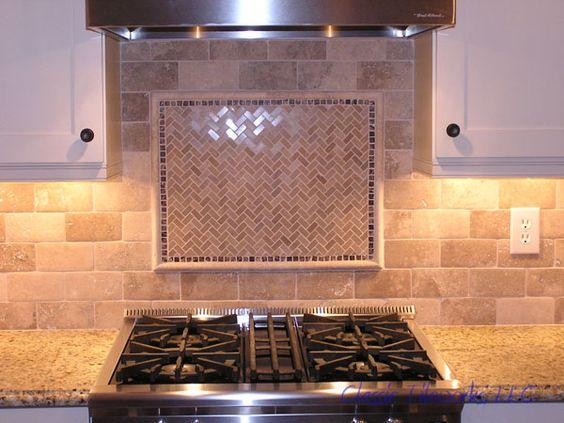 mosaics travertine tile and the o 39 jays on pinterest