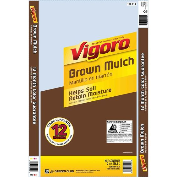 $2.97 Vigoro 2 cu. ft. Brown Mulch-133614 - The Home Depot