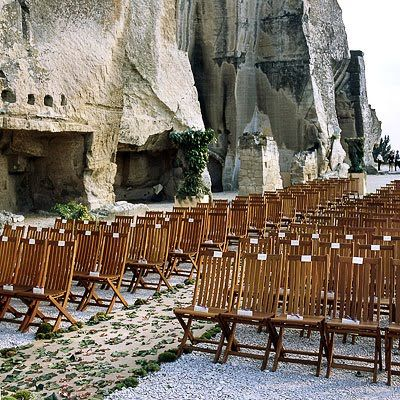 Beach wedding ceremony inspiration