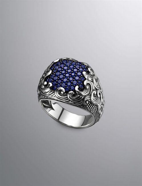 Classy jewelry for men.