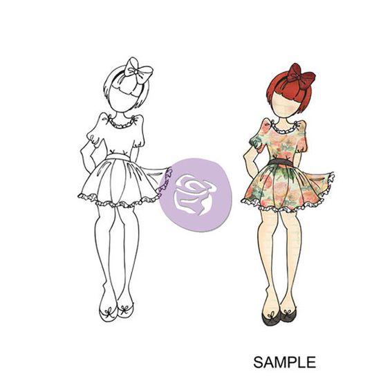 VENTE poupée Prima timbre mixte  Betty  par HopscotchCraftSupply