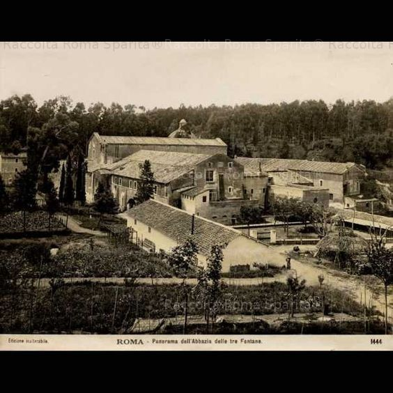 Tre Fontane 1900