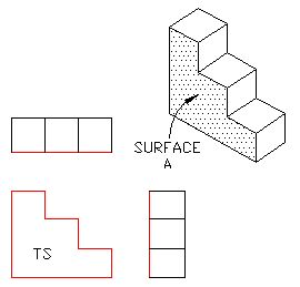 4-4a.gif (270×259)   Orthographic Projection 1   Pinterest Orthogonal Art