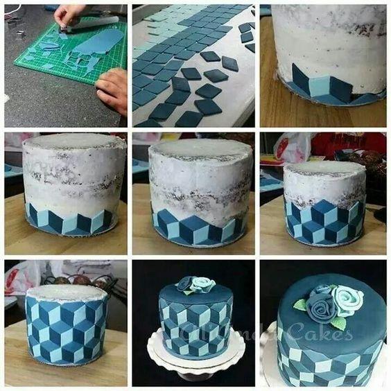 Optical  illusion  cake