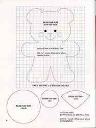 desenho de ursinho para feltro - Pesquisa Google
