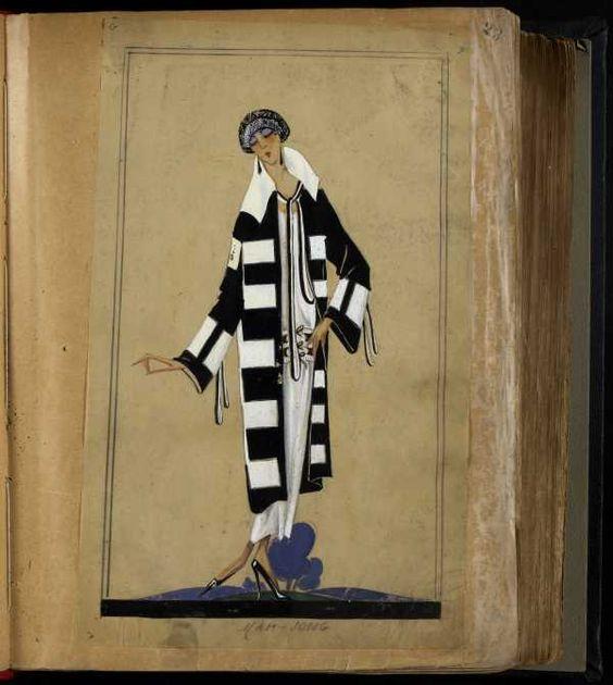 MAH JONG PARIS ETE 1924 © Patrimoine Lanvin. #Lanvin125