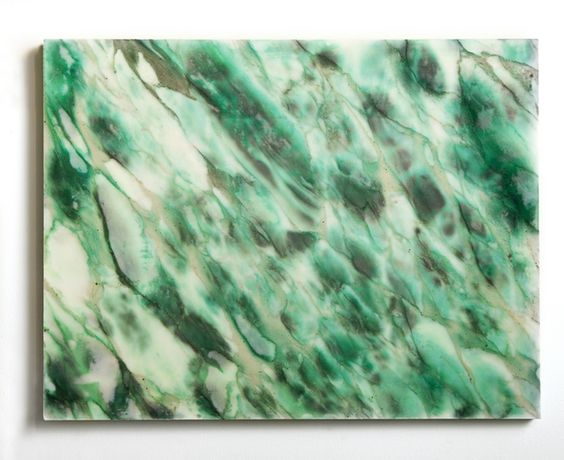 JOHN MISERENDINO Untitled (Jonah's Friend Named Brian), 2014  stone and dye 18 × 24 in 45.7 × 61 cm