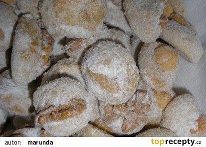 Ořechové miňonky - cukroví recept - TopRecepty.cz